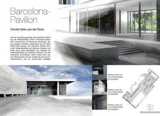 Barcelona Pavillon van der Rohe