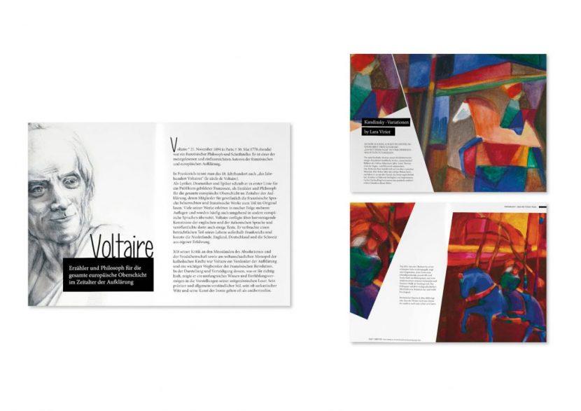 Zeitschrift Kandinsky Lara Viriot Illustrationen