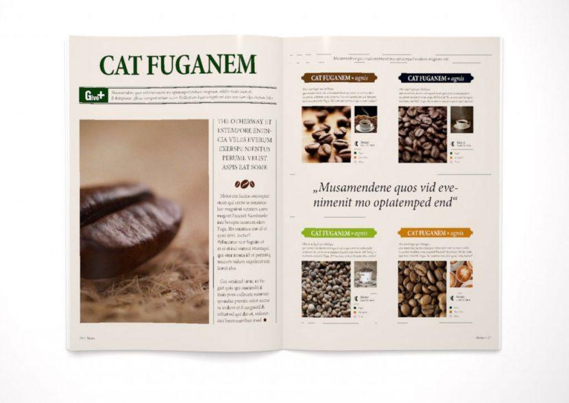 Zeitschrift cafe kathegorien