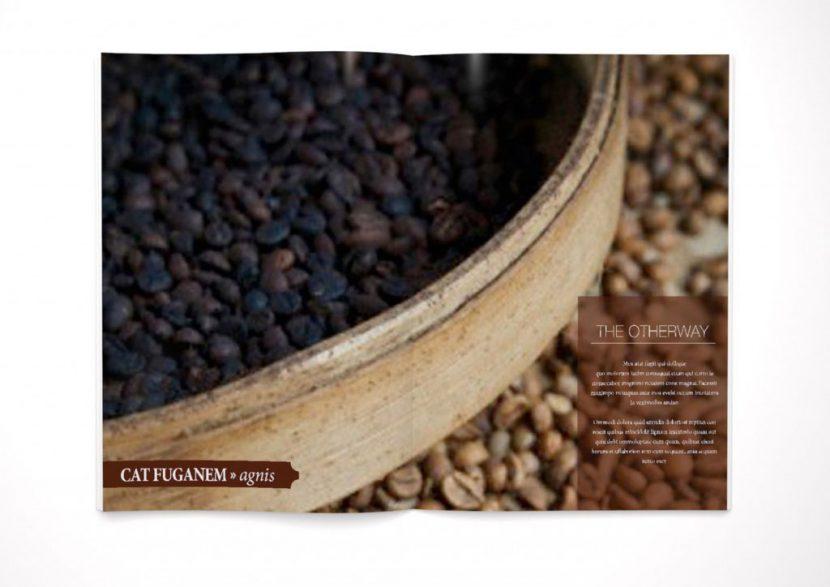 Zeitschrift cafe vorbereitung
