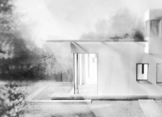Haus auf dem Land Visualisierung