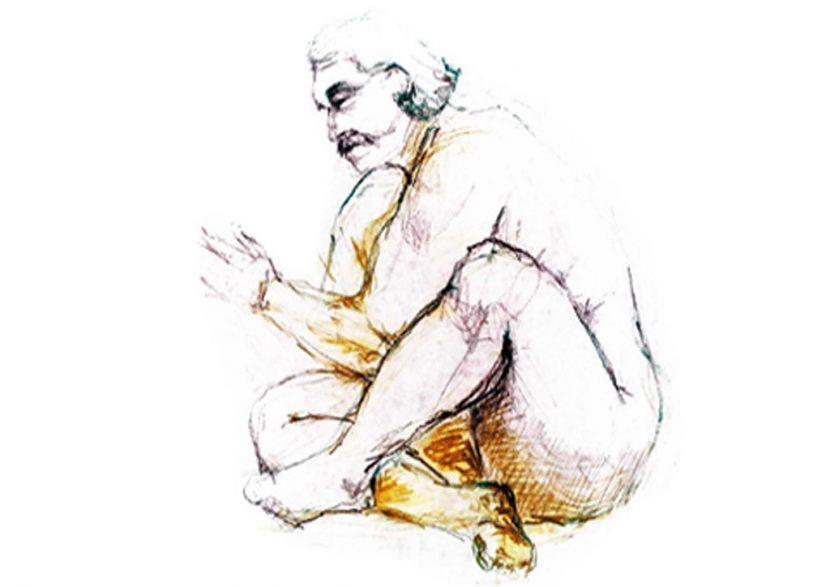 illustration akt zeichnung esag penninghen