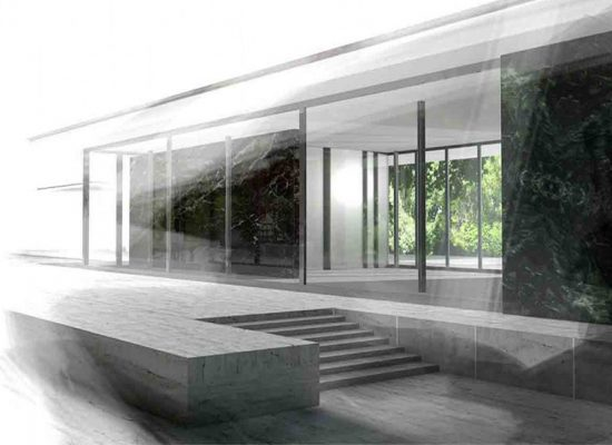 pavillion 3d visualisierung