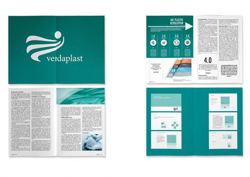 verdaplast Corporate design