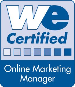 WE Certified Online Marketing Manager Bodesee